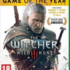 Joc consola CD Projekt S.A THE WITCHER 3 WILD HUNT GOTY EDITION pentru XBOX ONE - Jocuri Xbox One