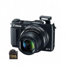 Aparat foto Canon Powershot G1X Mark II 12.8 Mpx zoom optic 5x Negru - Aparat Foto compact Canon