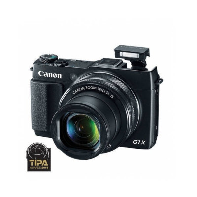 Aparat foto Canon Powershot G1X Mark II 12.8 Mpx zoom optic 5x Negru foto