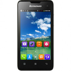 Telefon mobil Lenovo A396 Dual Sim 512MB Negru