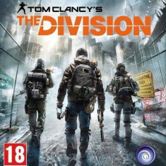 Joc consola Ubisoft The Division XBOX ONE - Jocuri Xbox One Ubisoft, Shooting, 18+