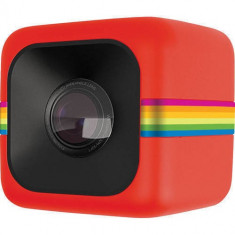 Camera Video de Actiune Polaroid Sport Cube Full HD Rosu - Camera Video Actiune Polaroid, Card de memorie