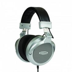 Casti Koss Over-Head PRO4AAAT Silver, Casti Over Ear, Cu fir, Mufa 3, 5mm