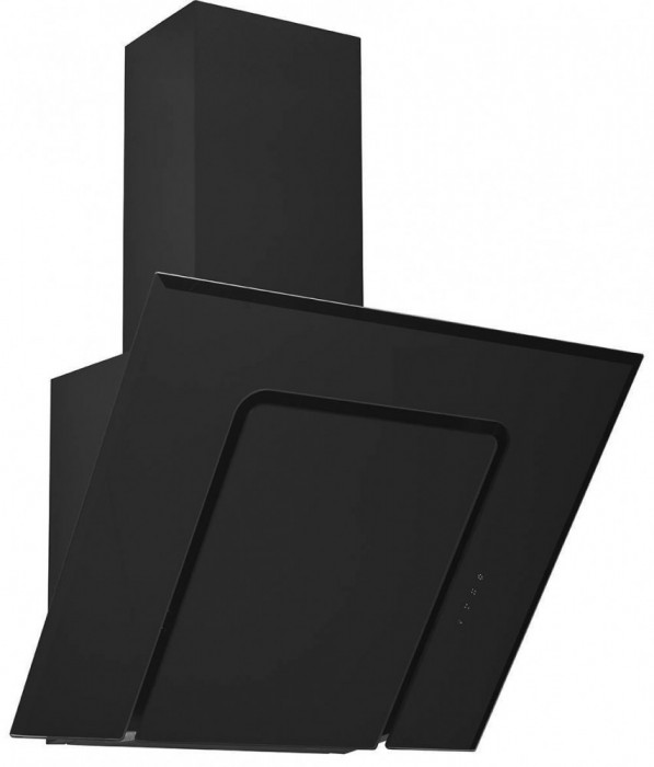 Hota Decorativa Pyramis SQUARE BLACK GLASS 3423 MAGICO 1 motor 3 viteze Touch Control