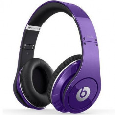 Casti Beats Studio Over-Ear purple Monster Beats by Dr. Dre, Casti Over Ear, Cu fir, Mufa 3, 5mm, Active Noise Cancelling