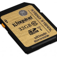 Card Kingston SDHC 32GB Clasa 10 SDA10/32GB
