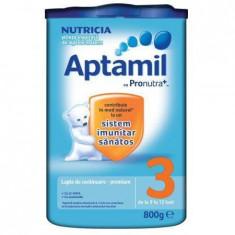 Lapte praf APTAMIL Nutricia 3 800 g 9-12 luni - Lapte praf bebelusi