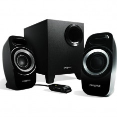 Sistem audio 2.1 Creative Inspire T3300 Black - Boxe PC