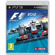 Joc consola Codemasters F1 2012 PS3 - Jocuri PS3 Codemasters, Curse auto-moto, 3+
