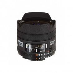 Obiectiv Nikon AF Fisheye-Nikkor 16mm f/2.8D - Obiectiv DSLR