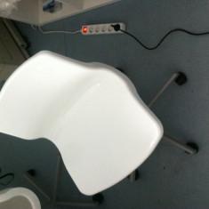 Scaun de birou rotativ, alb IKEA (SNILLE) - Scaun birou