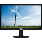 Monitor LED Philips 231S4QCB/00 23 inch 7ms Black