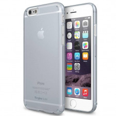 Husa Protectie Spate Ringke Slim Frost Gray plus folie protectie pentru Apple iPhone 6 - Husa Telefon Ringke, iPhone 6/6S, Plastic, Carcasa