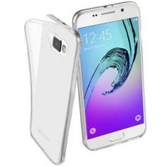 Husa Protectie Spate Cellularline FINECGALA316T Transparent pentru Samsung Galaxy A3 2016 - Husa Telefon