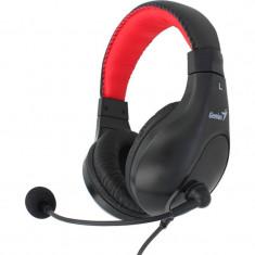 Casti Genius HS-520 Black, Cu fir, Mufa 3, 5mm
