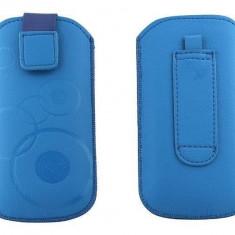 Toc OEM TSNOKE52ABS Slim albastru pentru Nokia E52 / X1-00 / 100 - Husa Telefon Oem, Plastic