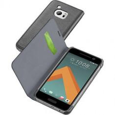 Husa Flip Cover Cellularline BOOKESSENONEM10K Agenda Essential Negru pentru HTC 10 - Husa Telefon