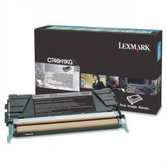 Consumabil Lexmark Consumabil toner pt C746 si C748 Black High Yield Return Program Toner Cartridge12000 pages
