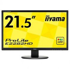 Monitor Iiyama ProLite E2282HD 21.5inch Full HD Black - Monitor LED IIyama, 21 inch, 1920 x 1080