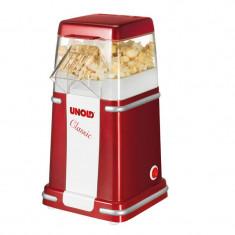 Aparat popcorn Unold Classic 900W 100g rosu