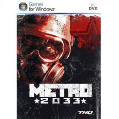 Joc PC THQ Metro 2033 - Jocuri PC Thq, Shooting, Single player