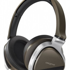 Casti bluetooth Creative Aurvana Gold, Casti Over Ear