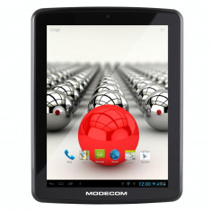 Tableta Modecom FreeTAB 8001 IPS X2 3G+ 8 inch Cortex A9 1.0GHz Dual Core 1GB RAm 8GB flash WiFi Black, Wi-Fi + 3G, Android