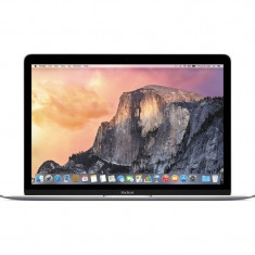Laptop Apple MacBook 12 inch Retina Intel Skylake Core M3 1.1GHz 8GB DDR3 256GB SSD Intel HD Graphics 515 Mac OS X El Capitan Silver RO keyboard, 12 inches, Intel Core M3, 250 GB