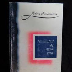001. Manantial de agua viva, de Elena Santamaria ( in limba spaniola ) - Carte in spaniola