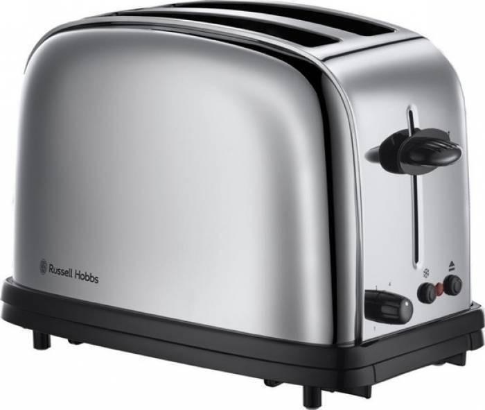 Prajitor de paine Russel Hobbs Chester 1200W inox foto mare