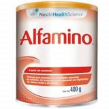 Lapte praf ALFAMINO 400g 0-6 luni Nestle