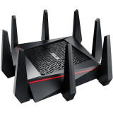 Router wireless Asus RT-AC5300 Gigabit Tri-Band Black, Port USB, 4