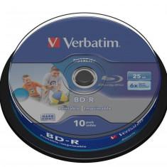 Mediu optic Verbatim BD-R SL Datalife 6X 25GB 10 bucati