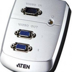 Splitter video Aten VS82-AT-G 2 porturi - Cablu PC