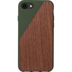 Husa Protectie Spate Native Union CLIC-OLI-WD-7 Walnut Wood Maro pentru Apple iPhone 7 - Husa Telefon