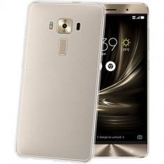 Husa Protectie Spate Celly GELSKIN626 Transparent pentru ASUS Zenfone 3 Deluxe - Husa Telefon