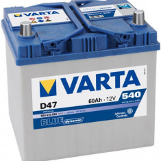 Baterie auto Varta BLUE DYNAMIC 560410054 D47 60Ah 540A, 60 - 80