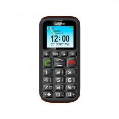 Telefon mobil MaxCom MM428 Dual Sim Black