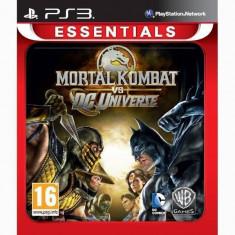Joc consola Warner Bros Mortal Kombat vs DC Universe Essentials PS3 - Joc PS1