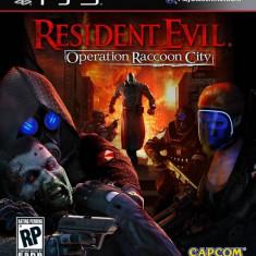 Joc consola Capcom Resident Evil Operation Raccoon City PS3 - Jocuri PS3 Capcom, Actiune, 18+