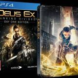 Joc consola Square Enix Ltd DEUS EX MANKIND DIVIDED STEELBOOK EDITION pentru PS4 - Jocuri PS4