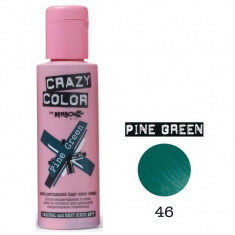 Vopsea de par semi-permanenta Profesionala CRAZY COLORS 002236-1 Verde Deschis