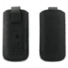Toc OEM TSNOK6300NEG Slim negru pentru Nokia 6300 / 2630 / 5310XP - Husa Telefon Oem, Vinyl
