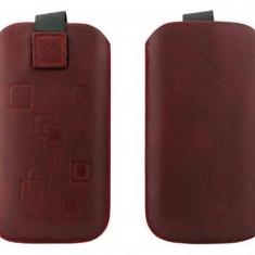 Toc OEM TSSAMGS2ROS Slim rosu pentru Samsung Galaxy S2 / S / S Plus - Husa Telefon