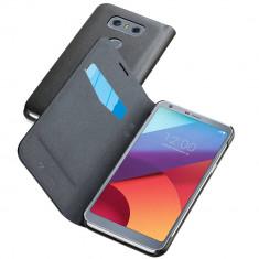 Husa Flip Cover Cellularline BOOKESSLGG6K Negru pentru LG G6