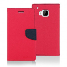 Husa Flip Cover Goospery Fancy Diary Hot Pink Navy pentru HTC ONE M9 - Husa Telefon