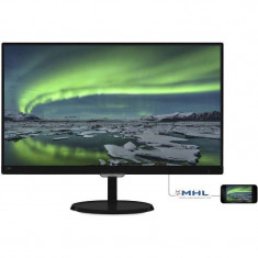 Monitor LED Philips 237E7QDSB/00 23 inch 5ms Black, 1920 x 1080