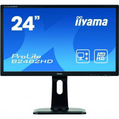 Monitor LED Iiyama ProLite B2482HD-B1 23.6 inch 5ms Black, 23 inch