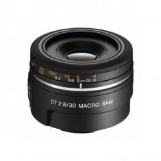 Obiectiv Sony SAL-30M28 DT AF 30mm f/2.8 SAM Macro - Obiectiv DSLR