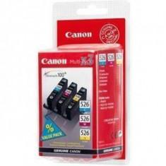 Consumabil Canon Cartus CLI-526 C/M/Y BS4541B006AA Multipack - Cartus imprimanta